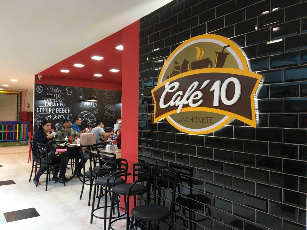 Obra Café 10 - realizada em 10 dias