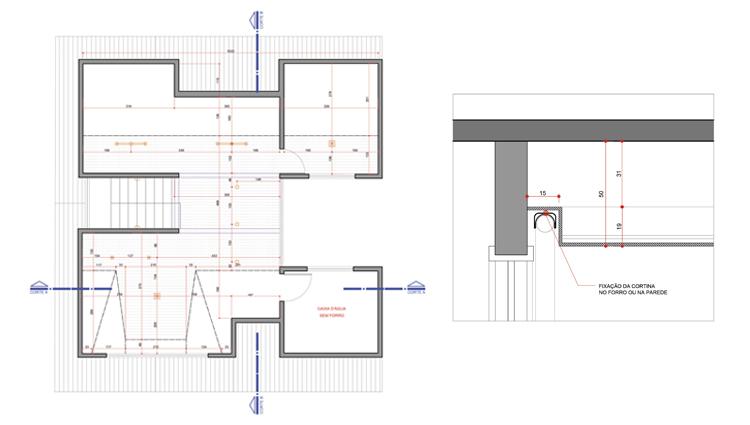 Planta Baixa e Detalhes Forro e Gesso Projeto executivo