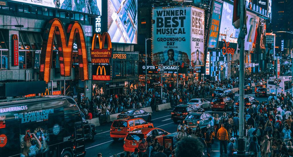 Identidade Visual comercial rua