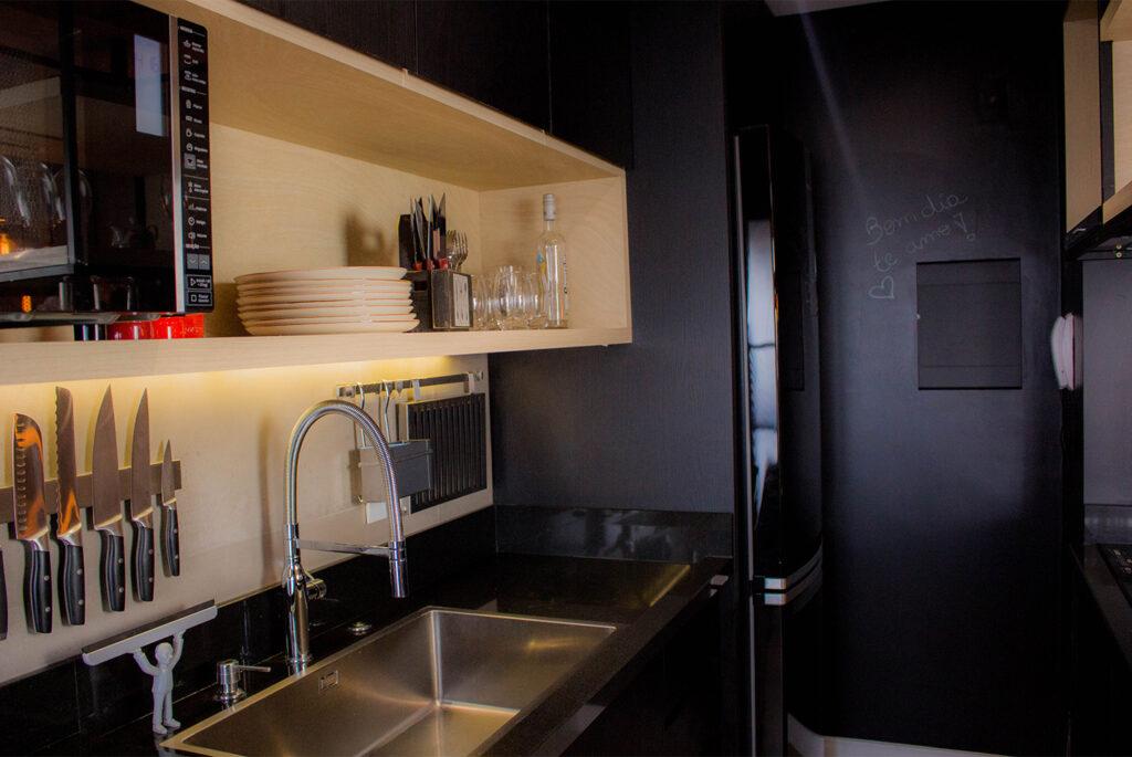 Móveis da cozinha do apartamento 706