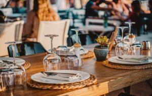 Decoração Mesa de Restaurante